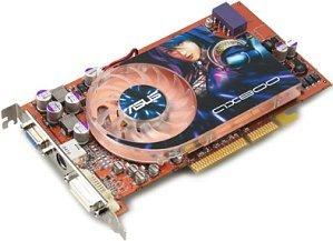 ASUS AX800Pro/TD, Radeon X800 Pro, 256MB DDR3, DVI, TV-out, AGP (90-C1VCN1-HUAN)