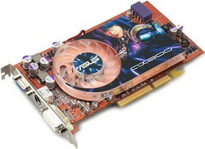 ASUS AX800XT/TVD, Radeon X800 XT [Platinum], 256MB DDR3, DVI, ViVo, AGP (90-C1VCN5-HUAN1/C1VCN6-HUAN)