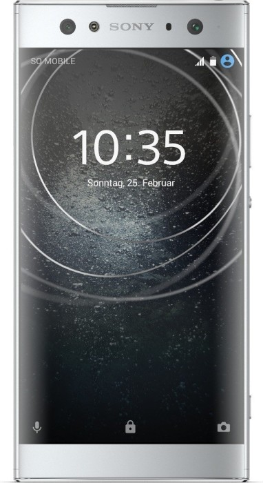 Sony Xperia XA2 Ultra silber