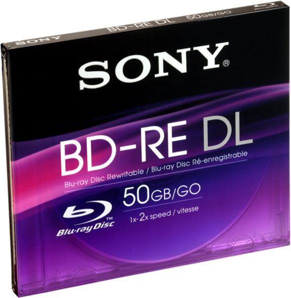 Sony BD-RE DL 50GB 2x, 1er Jewelcase (BNE50B)