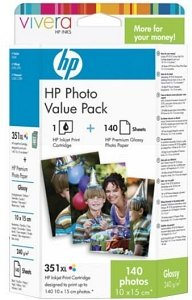 HP Tinte Nr 351XL Value Photo Pack (Q8848EE)