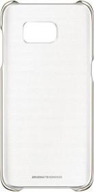Samsung Clear Cover für Galaxy S7 Edge gold (EF-QG935CFEGWW)