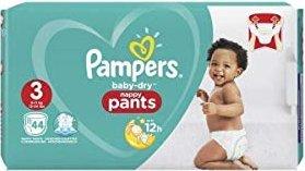 Pampers Baby-Dry pants Gr.3 Einwegwindel, 6-11kg, 44 Stück