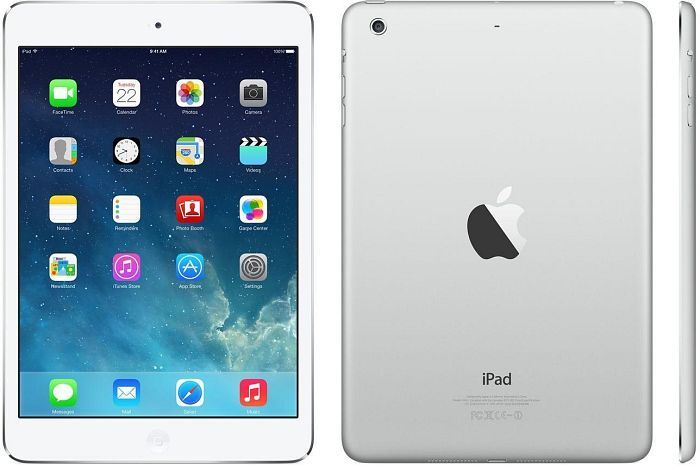 apple ipad mini 2 16gb wei silber me279fd a ab 303 55. Black Bedroom Furniture Sets. Home Design Ideas
