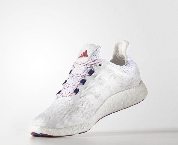 adidas Pure Boost 2.0 ftwr whitevivid red (Herren) (S81737)