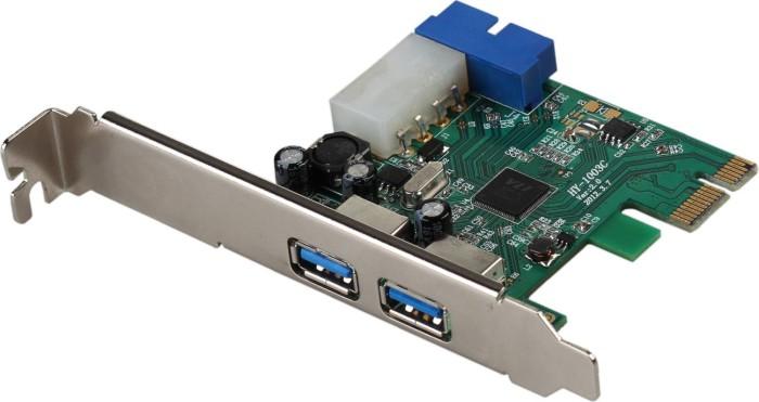 i-tec PCE22U3, 4x USB 3.0, PCIe 2.0 x1 -- Dieses Bild wurde uns freundlicherweise von einem Nutzer zur Verfügung gestellt