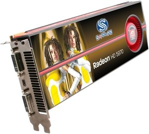 Sapphire Radeon HD 5970 OC Edition, 2x 1GB GDDR5, 2x DVI, mini DisplayPort, full retail (21165-01-50R/21165-01-51R)