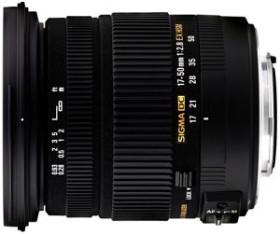 Sigma AF 17-50mm 2.8 EX DC OS HSM for Pentax K black (583961)