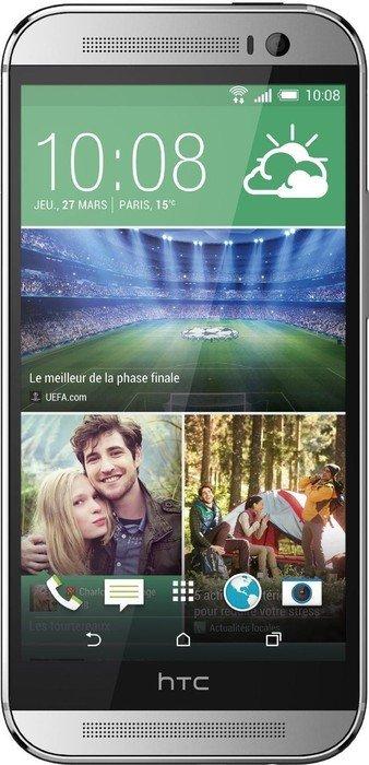 HTC One (M8) 16GB silver