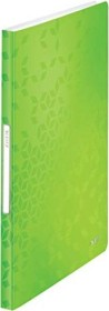 Leitz WOW Sichtbuch mit 40 Klarsichthüllen, grün (46320054)