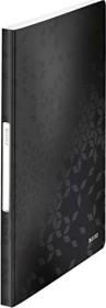Leitz WOW Sichtbuch mit 40 Klarsichthüllen, schwarz (46320095)