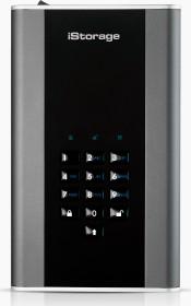 iStorage diskAshur DT2 8TB, FIPS Level 3, USB-B 3.0 (IS-DT2-256-8000-C-X)