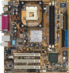 ASUS P4BGL-MX, i845GL (DDR)