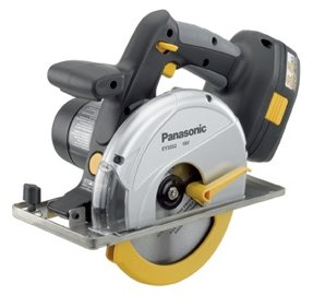 Panasonic EY3552GQW cordless metal circular saw
