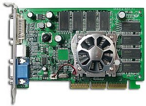 Sparkle SP8855-DT, GeForceFX 5500, 256MB DDR, VGA, DVI, TV-out