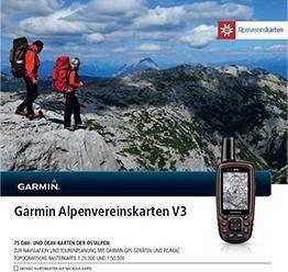 Garmin Alpenvereinskarten V3 (microSD) (010-11737-02)