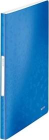 Leitz WOW Sichtbuch mit 40 Klarsichthüllen, blau (46320036)