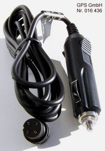 Car-power cable for Garmin GPS 12 XL