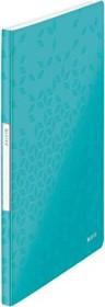 Leitz WOW Sichtbuch mit 40 Klarsichthüllen, eisblau (46320051)