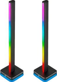 Corsair iCUE LT100 Smart Lighting Towers Starter Kit, RGB-Beleuchtungsset, 2er-Pack (CD-9010002-EU)