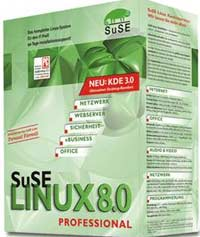 SuSE Linux 8.0 Professional (PC)