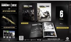 Rainbow Six: Siege - Art of Siege Edition (PS4)