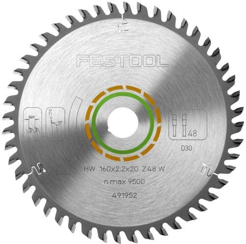 Festool W48 circular saw blade, 1-pack (491952)