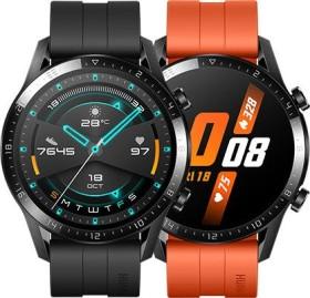 Huawei Watch GT 2 Sport 46mm schwarz mit Sportarmband matte black (55024316)
