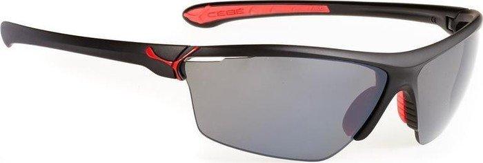 Cébé Sonnenbrille Cinetik, Shiny Black Grey, L, CBCINETIK5