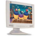 "ViewSonic VP201m, 20.1"", 1600x1200, audio, white, analog/digital"
