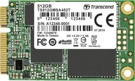 Transcend MSA452T SSD 512GB, mSATA (TS512GMSA452T)