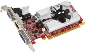 MSI N520GT-MD1GD3/LP, GeForce GT 520, 1GB DDR3, VGA, DVI, HDMI (V263-002R)