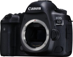 Canon EOS 5D Mark IV with third-party manufacturer lens