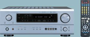 Denon AVR-1804 silber