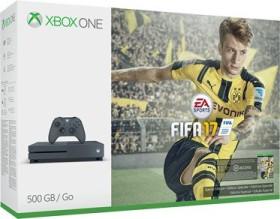 Microsoft Xbox One S - 500GB FIFA 17 Bundle grau