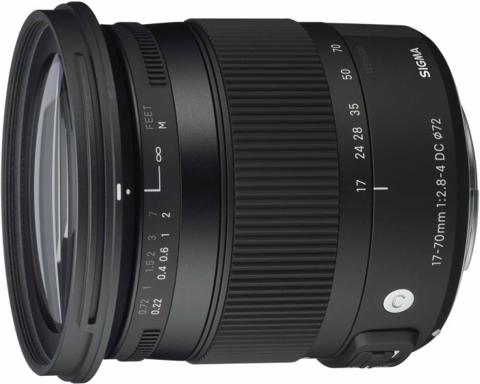 Sigma lens Contemporary AF 17-70mm 2.8-4.0 DC macro OS HSM for Nikon (884955)