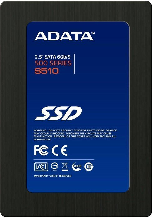 "ADATA S510  60GB, 2.5"", SATA 6Gb/s (AS510S3-60GM-C)"
