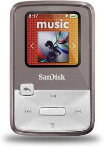 SanDisk Sansa Clip Zip 4GB grey (SDMX22-004G-E46G)