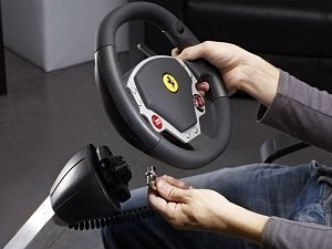 Thrustmaster Ferrari wireless GT cockpit 430 Scuderia Edition (PC/PS3) (4160545)