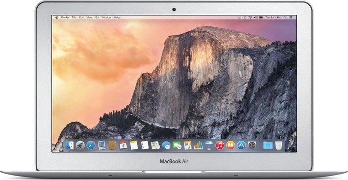 """Apple MacBook Air 11.6"""", Core i5-5250U, 4GB RAM, 128GB SSD [Early 2015 / Z0RK] (MJVM2D/A)"""
