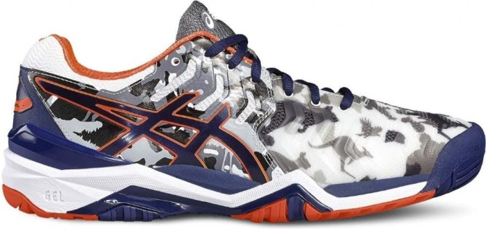 Asics Gel Resolution 7 Limited Blau Edition Melbourne Weiß indigo Blau Limited ... ec6629