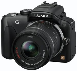 Panasonic Lumix DMC-G3 black with lens Lumix G vario 14-42mm 3.5-5.6 OIS (DMC-G3K)