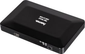 Hama USB-Hub, 4x USB-A 2.0, USB 2.0 Mini-B [Buchse] (00078472)