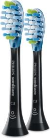 Philips HX9042/33 Sonicare C3 Premium plaque Control replacement toothbrush heads, 2-pack