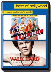 Ricky Bobby - König der Rennfahrer/Walk Hard - Die Dewey Cox Story