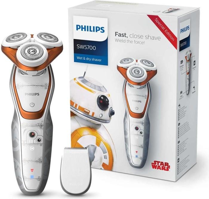 "Philips SW5700/07 Series 5000 Herrenrasierer Star Wars Edition ""Der loyale Droide"""
