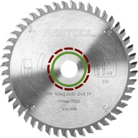Festool TF48 circular saw blade, 1-pack (496308)