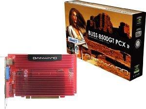 Gainward BLISS GeForce 8500 GT SilentFX, 256MB DDR2, VGA, DVI, TV-out (8569/8613)