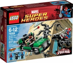 LEGO Marvel Super Heroes Play Set - Spider-Man: Spider-Cycle Chase (76004)