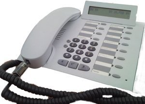 Unify OptiPoint 500 standard Systemtelefon (L30250-F600-A114/A115) -- © bepixelung.org